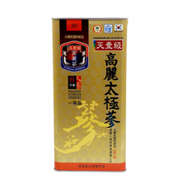 Korean Taekuk Ginseng 300g 30 roots